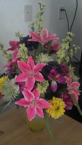 Cheerie bright flower arrangement in Cherry Point, North Carolina