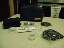 Overnight Amenities Kit In Zippered Case - NEW - (Toothbrush, ETC.) in Kingwood, Texas