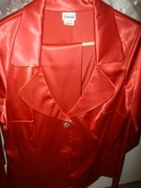 *REDUCED Sexy Red Satin Suit in Kingwood, Texas