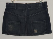 MOSSIMO Jeans Mini Skirt Sz 9 ^ Low Back Pockets L in Plainfield, Illinois